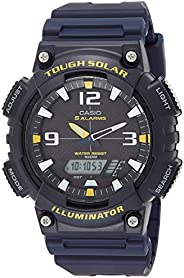 Casio Men's AQ-S810W-2AVCF Sport Solar-Powered Blue Watch 4