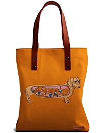 DailyObjects Secrets Of The Dachshund Tote Bag