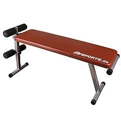 Idea Regalo - ScSPORTS 1150015 - Panca per allenamento, pieghevole, colore: Rosso