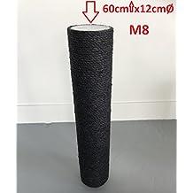e51d2472e92fc8 Ersatzstamm Schwarze (1 Stuck) für Qualitäts Kratzbäume Kratzbaum 12cmØ und  60 cm Länge m8