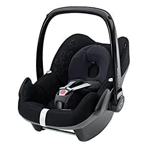 Maxi-Cosi Pebble Group 0+ Car Seat (Total Black) 2014 Range