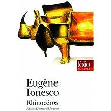 Rhinoceros (Folio Theatre) (French Edition) by Eugene Ionesco (1999-03-01)