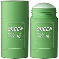 Rsentera Green Tea Mask Stick for Face Purifying Clay Stick Mask For Deep Cleaning, Blackhead Remove for Men and Women…