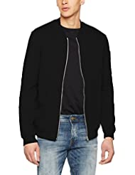 Jack & Jones Jcopete Zip Baseball Neck Noos, Veste Sweat Homme