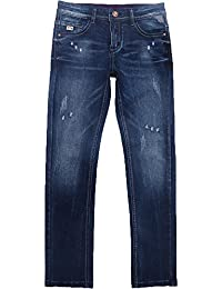 Big Boy's Jeans Stretch Pants Slim fit Straight leg7-16 Years 2018