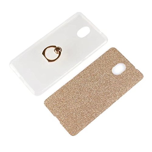 Soft Flexible TPU Back Cover Case Shockproof Schutzhülle mit Bling Glitter Sparkles und Kickstand für Lenovo Vibe P2 ( Color : White ) Pink