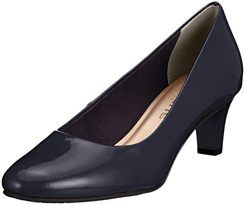 Tamaris Damen 22493-21 Pumps, Blau (Navy Patent 826), 38 EU