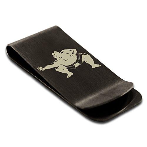 matte-black-stainless-steel-capcom-street-fighter-e-honda-engraved-money-clip-credit-card-holder