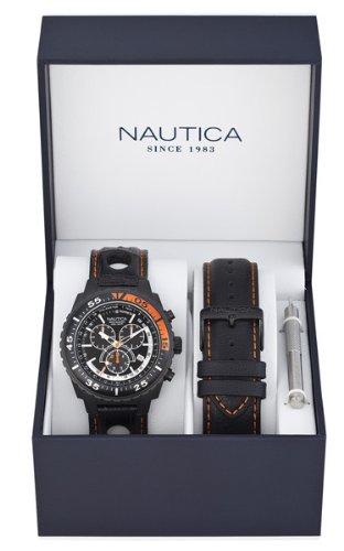 nautica-a17636g-montre-homme-quartz-analogique-cadran-noir-bracelet-cuir-noir