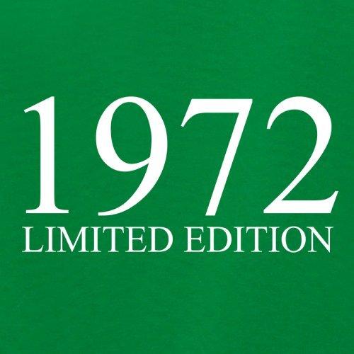 1972 Limierte Auflage / Limited Edition - 45. Geburtstag - Damen T-Shirt - 14 Farben Grün