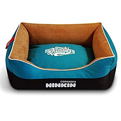 GWM Pet Mat, Large Dog Kennel Cat House Removable And Washable Nest Wear-resistant Bite Pet Bed from GWM
