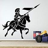 Stickers muraux Chevalier médiéval pour Le Salon décoration pour la Maison Art...