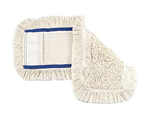 bellanet Wischbezüge Mop für gängigen Klapphalter 50 cm, Baumwolle Natur