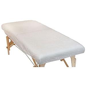 10 Stück Einweg-Spannlaken, Größe XL, für Massageliegen (190 x 91 x 15 cm), Praxisbedarf, Hygienelaken, Hygienebezug aus Vlies,