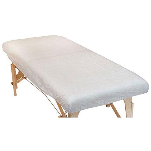 10 Stück Einweg-SpannlakenGröße L, für Massageliegen (185 x 76 x 15 cm), Praxisbedarf, Hygienelaken, Hygienebezug aus Vlies,