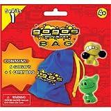 Gogo\'s Crazy Bones Carry Bag And 6 Gogo\'s Crazy Bones