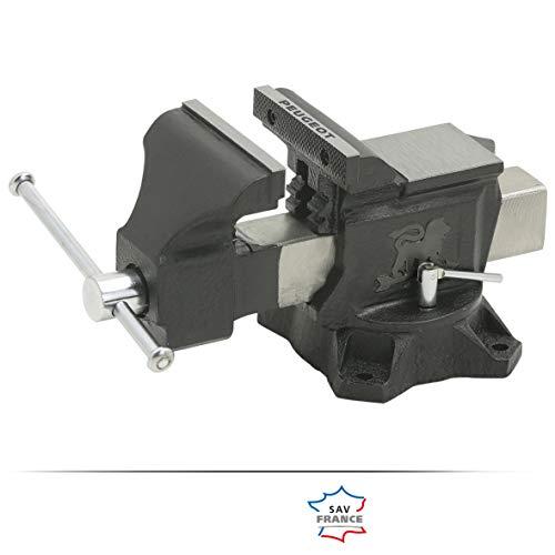 EBT125 - Tornillo de Banco - Ancho mordazas 124 mm - Largo total 360 mm