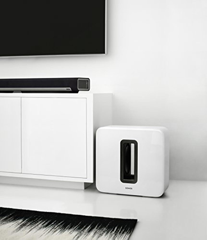 Sonos SUB Caisson de basse sans fil et subwoofer actif pour home ... c10bd0ed2cc0