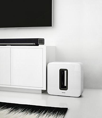 Sonos SUB I Subwoofer für das Sonos Smart Speaker System (weiß) - 3