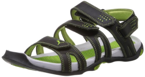 da455636b81e Puma 30482804 Men Black And Blue Aripon Ii Sports Sandals - Best Price in  India