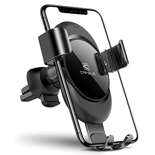 (CAFELE Handyhalterung KFZ Lüftung Halter New Tech Einhandbedienung Sicher und Bequemer Beim Fahren Für Auto Lüftungsschlitz (Schwarz))