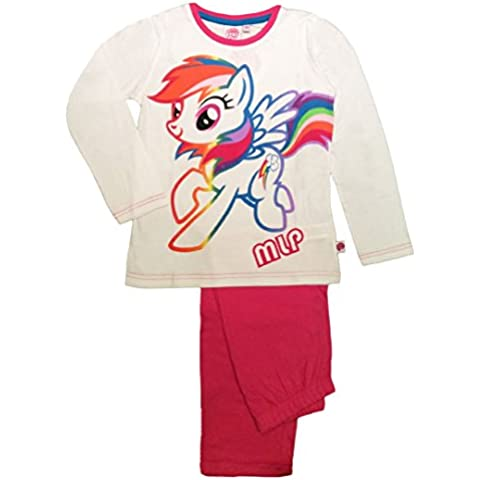 My Little Pony-Set pigiama a maniche lunghe,