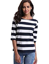 42c1cb42a02810 Suchergebnis auf Amazon.de für  blau-weiß gestreiftes T-Shirt - Tops ...