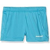 Babolat match core pantalones cortos, todo el año, unisex, color Turquesa - turquesa, tamaño 12 años (152 cm)