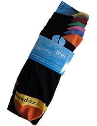 Fresh Feel Days Of The Week Socks 7 Pair Pack