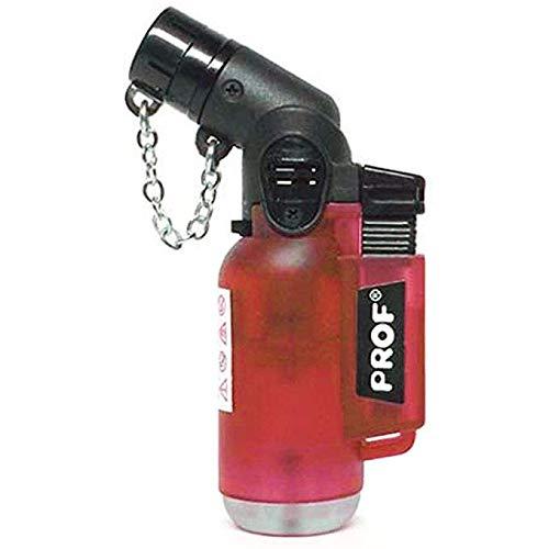 2X Jet Lighter - Das Ultrakompakte Gasbrenner Feuerzeug hält Jedem Sturm Stand! Diverse Farben und Styles - Wiederaufladbar! Torch Lighter