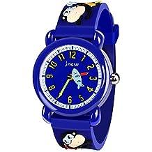 Tisy Relojes para Niños Niñas, Niños Relojes de Dibujos Animados Regalos 3-12 Años