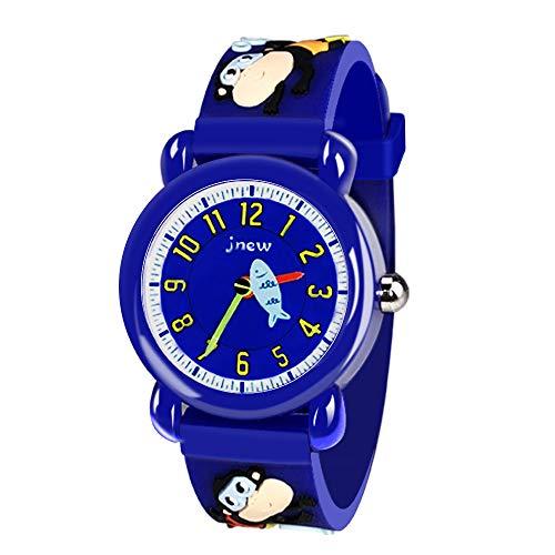 Uhren für Jungen Mädchen Kinder Kinder, Tisy Kinder Karikatur Uhren Geschenke 3-12 Jahre alte Jungen Geschenke für 3-12 Jahre alte Mädchen Spielzeug für 3-12 Jahre alte Mädchen Jungen Affe TSUKWH05