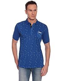 27Ashwood Tshirts For Men Branded,mens Tshirt Half Sleeve,branded T Shirts For Men,men's Royal Blue Collar Polo...