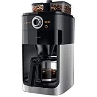 Philips Grind & Brew Coffee Maker, HD7762/00, Black