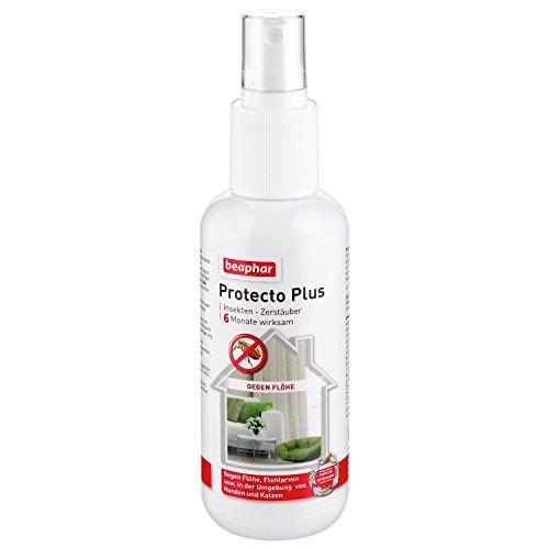 Artikelbild: Protecto Plus - Umgebungsspray | Gegen Flöhe, Zecken, Läuse & Milben | Anti-Floh-Mittel für die Umgebung | Wirkt ca. 6 Monate| 150 ml