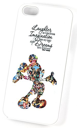 walt-disney-laughter-imagination-and-dreams-quote-iphone-5-5s-white-hard-plastic-phone-case-cover