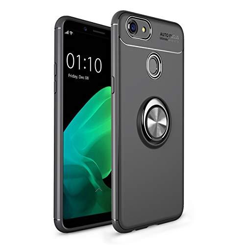 Ultra-Lightweight Thin Oppo F5 Back case MASTAR LLC Protective Case Skin TPU Back case for Oppo F5 (Black )