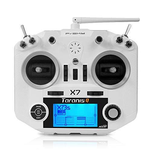 LITEBEE FrSky Taranis Q X7 Sender ACCST 2.4GHz 16CH RC Frsky Transmitter for FPV Racing Drone Quadcopter by (White) Video-transmitter-rf Link