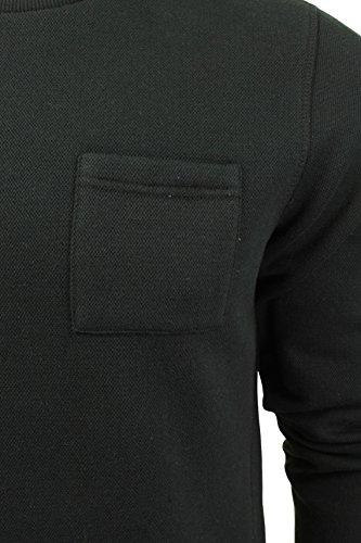 Pull col grand-père à manches longues 'Brookmere' par Tokyo Laundry pour homme Noir