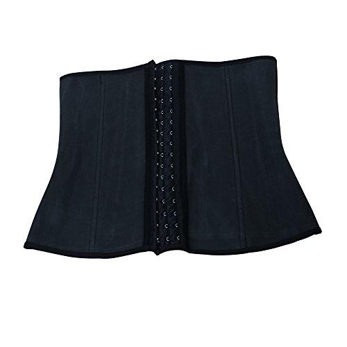 Jambo donna Full Body Shaper bustino coscia riduttore Body shapewear nero (M)