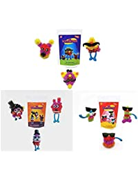 Toiing Scrunchies Family Combo - Pack of 3