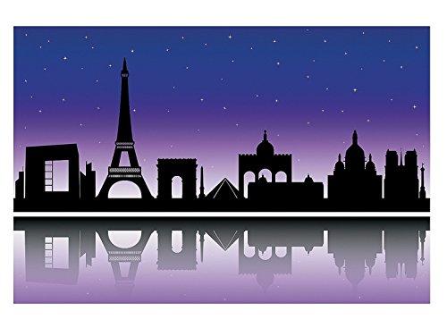 Fun Express Stadt Paris Hintergrund Banner Szene Hochzeit Geburtstag Foto Beide Dekoration