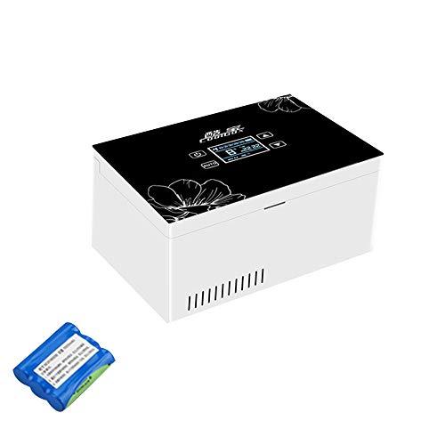 41rose0UIuL - Refrigerador PortáTil De Insulina Mini Refrigerador Enfriador EléCtrico Nevera Coche Refrigerador De Medicamentos para El Hogar Oficina Viajes 2-18 ° C Negro