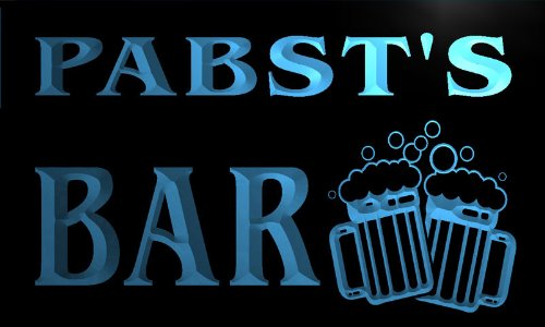 w012251-b-pabsts-nom-accueil-bar-pub-beer-mugs-cheers-neon-sign-biere-enseigne-lumineuse