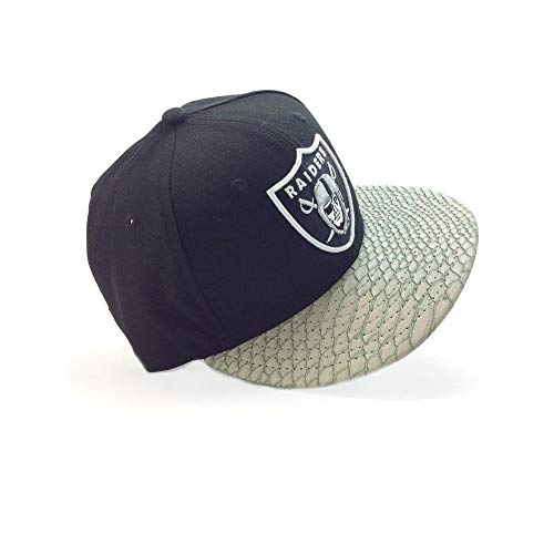 New Era 9Fifty Snapback Cap - REPTILE VIZOR Oakland Raiders
