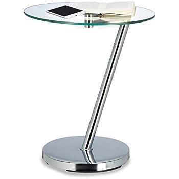 stolik kawowy okrągły szklany