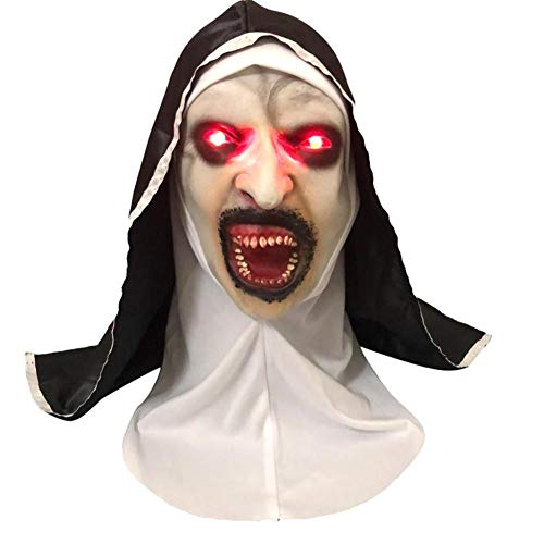 Bloomma Halloween Scary Maske Horrific Light Up Latex Gesichtsschutz für Cosplay Kostüm Masquerade Party