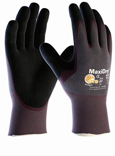 dbi-trading-maxidry-palm-coated-424-oil-resistant-work-gloves-size-10-xl-by-printer-ink-cartridges-2