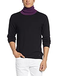 Arrow Newyork Mens Cotton Sweater (8907259330501_AKQY8723_Large_Black)