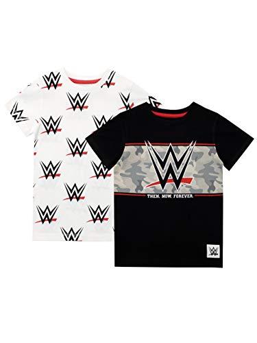 WWE Jungen World Wrestling Entertainment T-Shirt Zweierpack 140